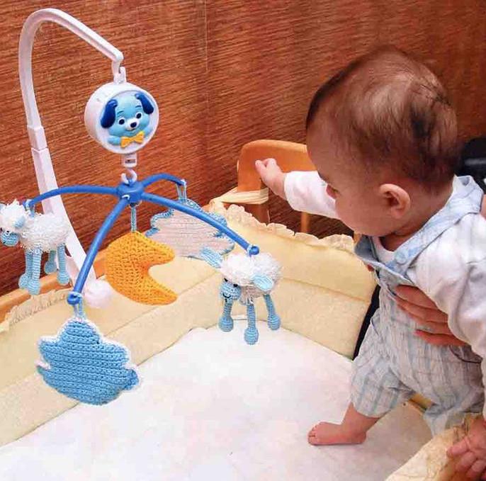 Игрушки для грудных детей своими руками 153