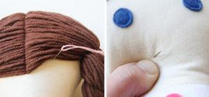 Текстильная кукла своими руками мастер класс (16)