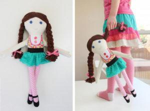 Текстильная кукла своими руками мастер класс (2)