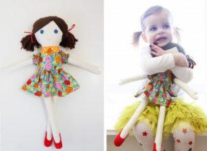 Текстильная кукла своими руками мастер класс (3)