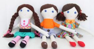 как сделать куклу для девочки (13)