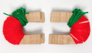 Игрушки из помпонов своими руками (32)