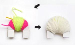 Игрушки из помпонов своими руками (7)
