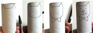Игрушки из рулонов от туалетной бумаги (22)