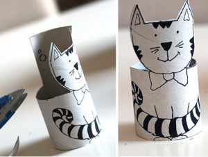 Игрушки из рулонов от туалетной бумаги (24)