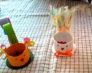 Игрушки из рулонов от туалетной бумаги (9)