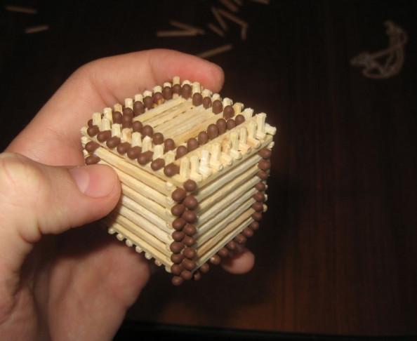 Пирамида из спичек своими руками 53