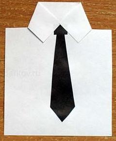 К 23 февраля своими руками. Из бумаги для детей детского сада (20)