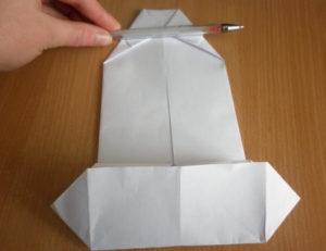 К 23 февраля своими руками. Из бумаги для детей детского сада (38)