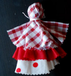 Как сделать куклу из ткани (25)
