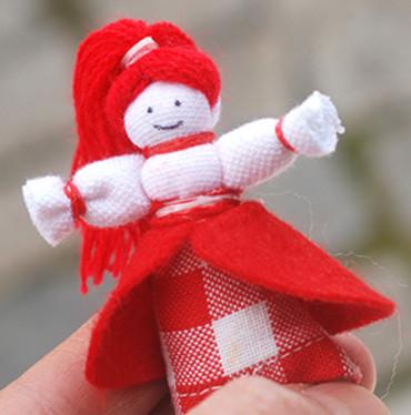 Как из ткани сделать куклу 16