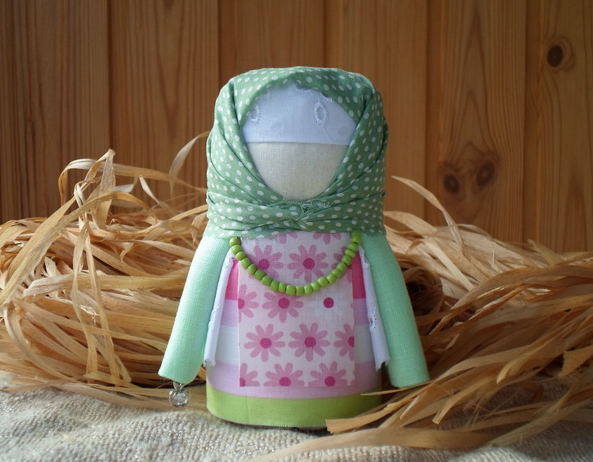 Куклы крупенички из ткани с мастер классом
