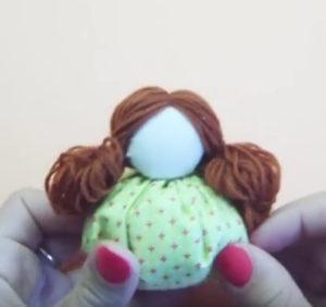 Маме на 8 марта своими руками. Кукла зерновушка (10)