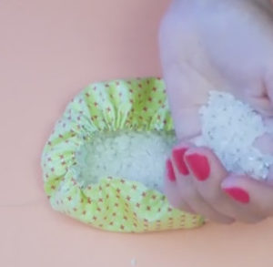 Маме на 8 марта своими руками. Кукла зерновушка (35)