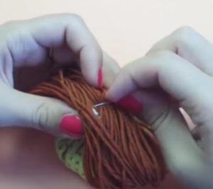 Маме на 8 марта своими руками. Кукла зерновушка (4)