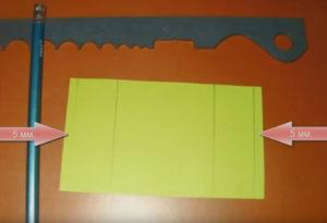 Папе на 23 февраля в детском саду. Танк из бумаги своими руками (22)
