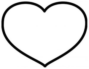 Подарок на 14 февраля своими руками. Выкройки сердечек (1)