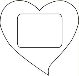 Подарок на 14 февраля своими руками. Выкройки сердечек (10)