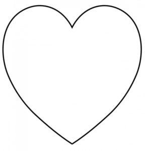 Подарок на 14 февраля своими руками. Выкройки сердечек (5)