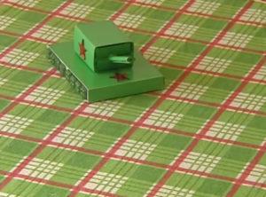 Подарок папе на 23 февраля. Как сделать танк своими руками (9)