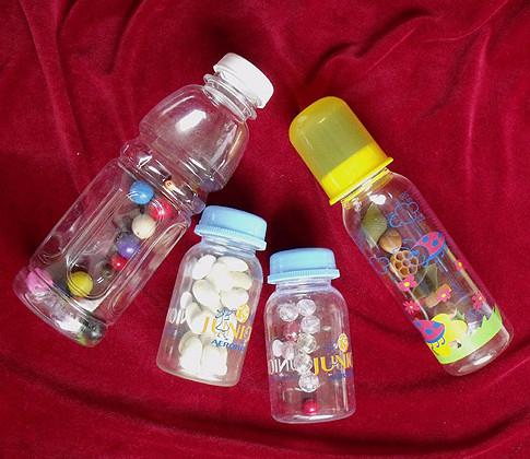 Поделки из бутылочек из детского питания 5