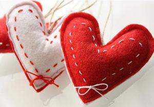 Сердечко игрушка. Подарок на 14 февраля своими руками (12)