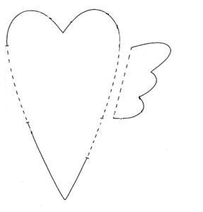 Сердечко игрушка. Подарок на 14 февраля своими руками (3)