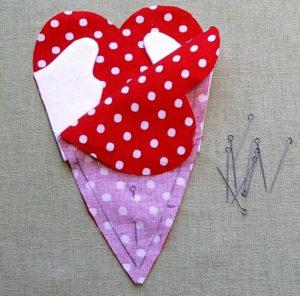 Сердечко игрушка. Подарок на 14 февраля своими руками (8)