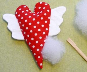 Сердечко игрушка. Подарок на 14 февраля своими руками (9)