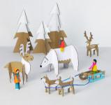 Игрушки для детей из картона (1)