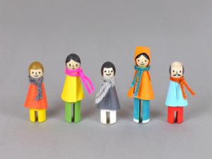 Игрушки для детей из картона (2)