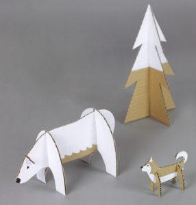 Игрушки для детей из картона (3)