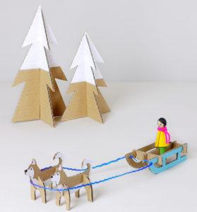 Игрушки для детей из картона (4)
