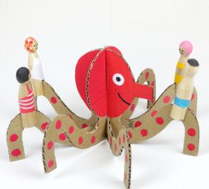 Игрушки из картона своими руками для детей (12)