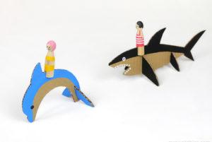 Игрушки из картона своими руками для детей (14)