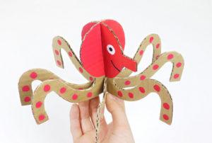 Игрушки из картона своими руками для детей (2)