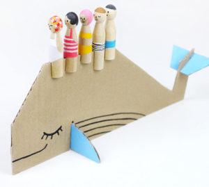 Игрушки из картона своими руками для детей (4)