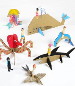 Игрушки из картона своими руками для детей (5)