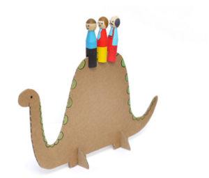 Как сделать из картона игрушки (11)