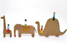 Как сделать из картона игрушки (3)
