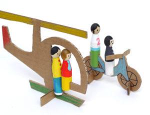 Как сделать из картона игрушки (4)
