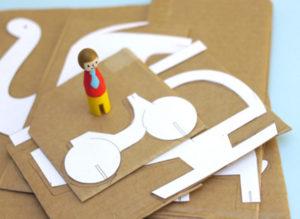 Как сделать из картона игрушки (8)