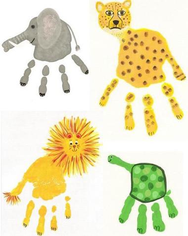 Рисуем пальчиками и ладошками (20)