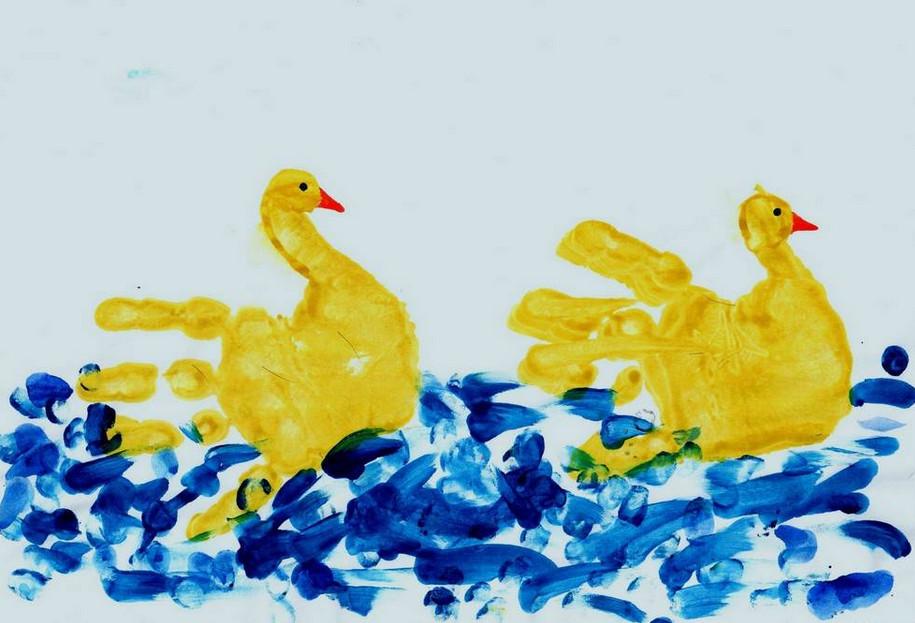 Рисуем ладошками (4)