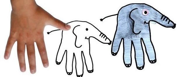 Рисуем пальчиками и ладошками (7)