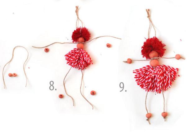 Как сделать куколку .