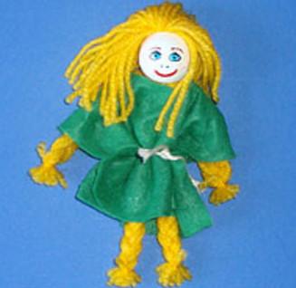 Куколка своими руками.