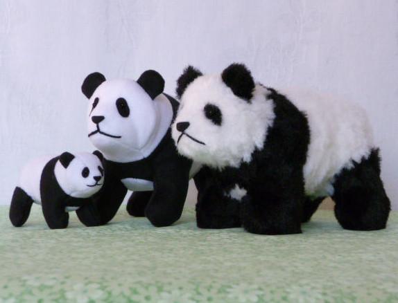Мягкая игрушка своими руками панда