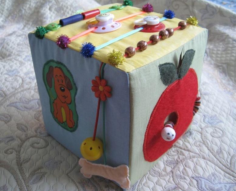 Куб для детей развивающий своими руками