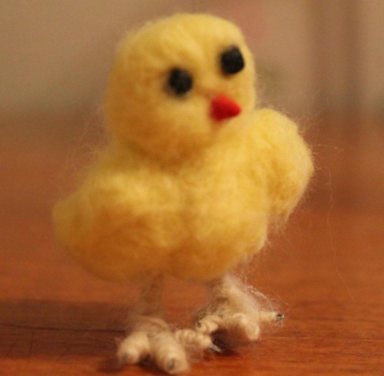 Маленький цыпленок своими руками 623